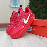 Женские кроссовки Nike Air Force 1 LV8 (красные) 2995, фото 6