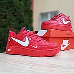 Женские кроссовки Nike Air Force 1 LV8 (красные) 2995, фото 9