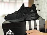 Мужские кроссовки Adidas (черные) 9013, фото 2