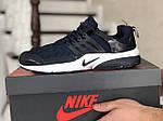 Мужские кроссовки Nike Air Presto TP QS (темно-синие) 9021, фото 2