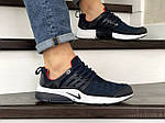 Мужские кроссовки Nike Air Presto TP QS (сине-белые) 9024, фото 2