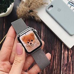 Ремешок Milanese Loop for Apple Watch 38/40mm Silver
