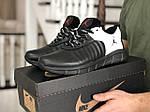 Чоловічі кросівки Nike Air Jordan (чорно-білі) 9027, фото 2