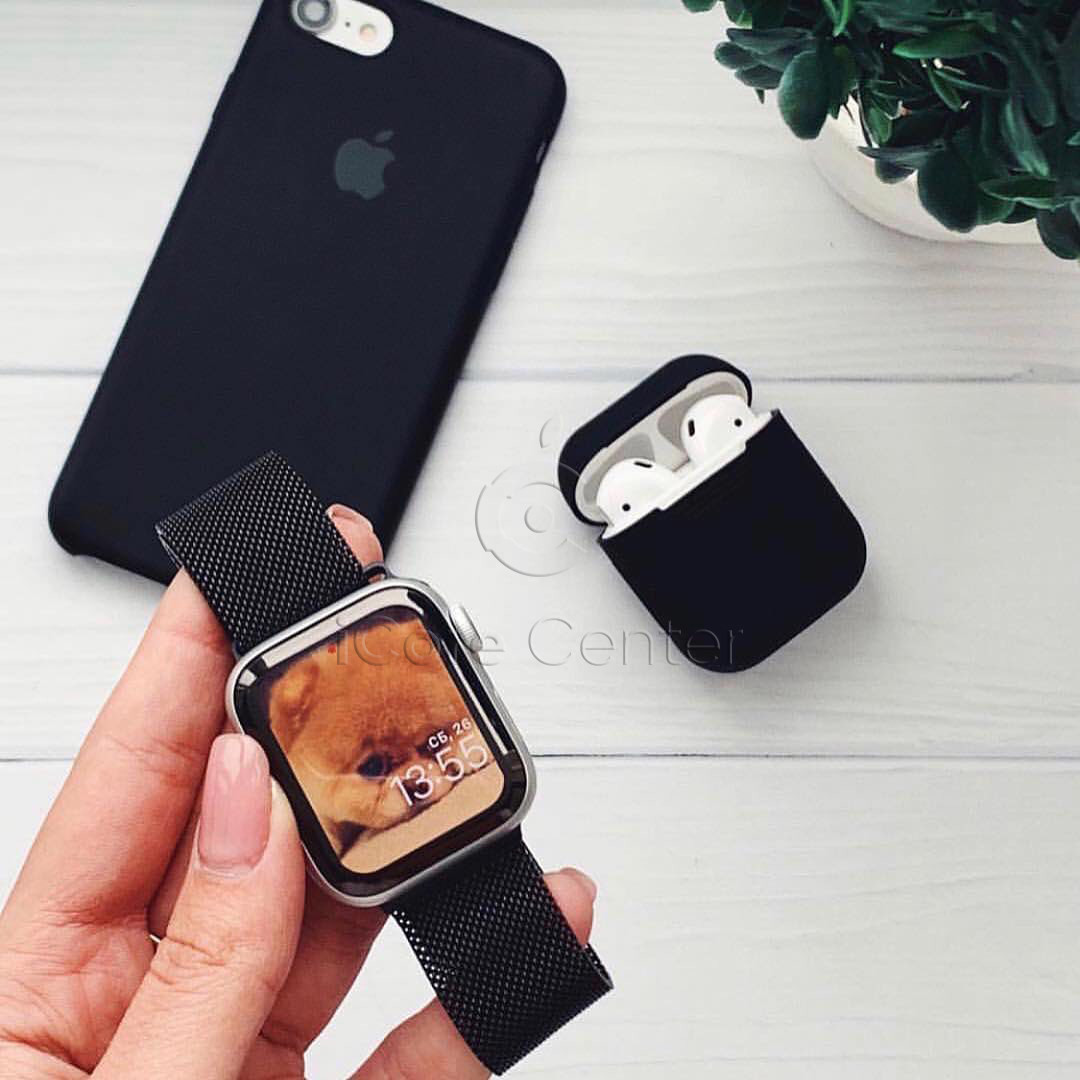 Ремешок Milanese Loop for Apple Watch 38/40mm Black