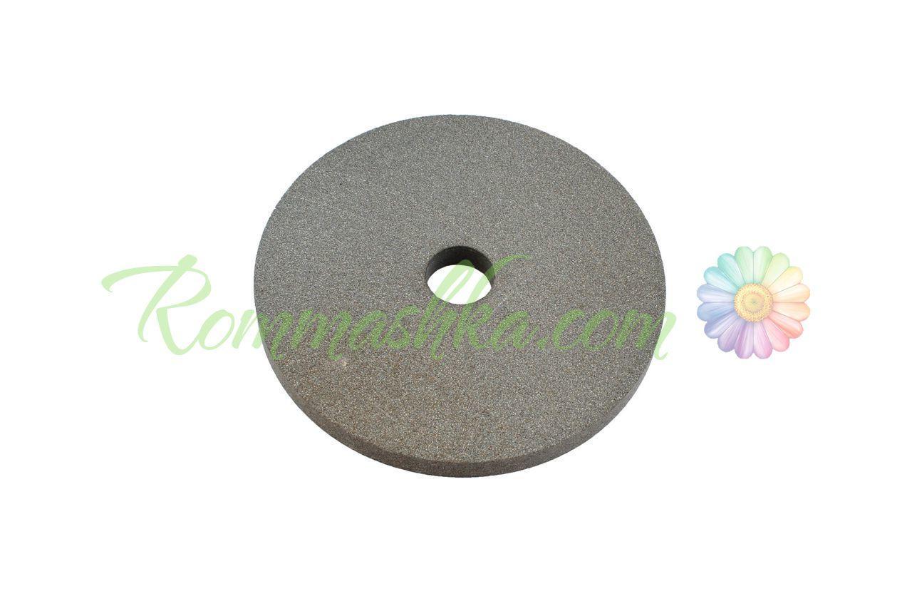 Круг керамика ЗАК - 125 х 16 х 32 мм (14А F150) серый