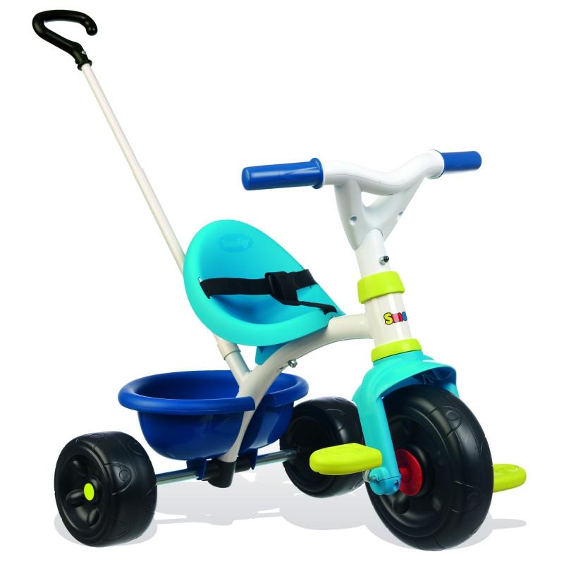 Велосипед триколісний Be Fun Blue Smoby 740323