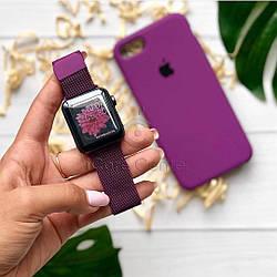 Ремешок Milanese Loop for Apple Watch 38/40mm Purple