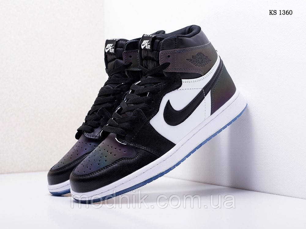 Мужские кроссовки Nike Air Jordan 1 Retro High OG (хамелеон) 1360