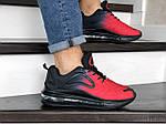 Мужские кроссовки Max 720 (черно-красные) 8984, фото 4