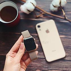 Ремінець Milanese Loop for Apple Watch 38/40mm Gold