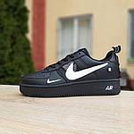 Мужские кроссовки Nike Air Force 1 LV8 (черно-белые) 10010, фото 3