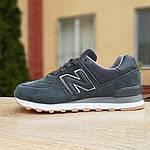 Мужские кроссовки New Balance 574 (серые) 10008, фото 2