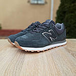 Мужские кроссовки New Balance 574 (серые) 10008, фото 6