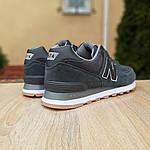 Мужские кроссовки New Balance 574 (серые) 10008, фото 9