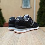Мужские кроссовки New Balance 574 (черные) 10007, фото 5