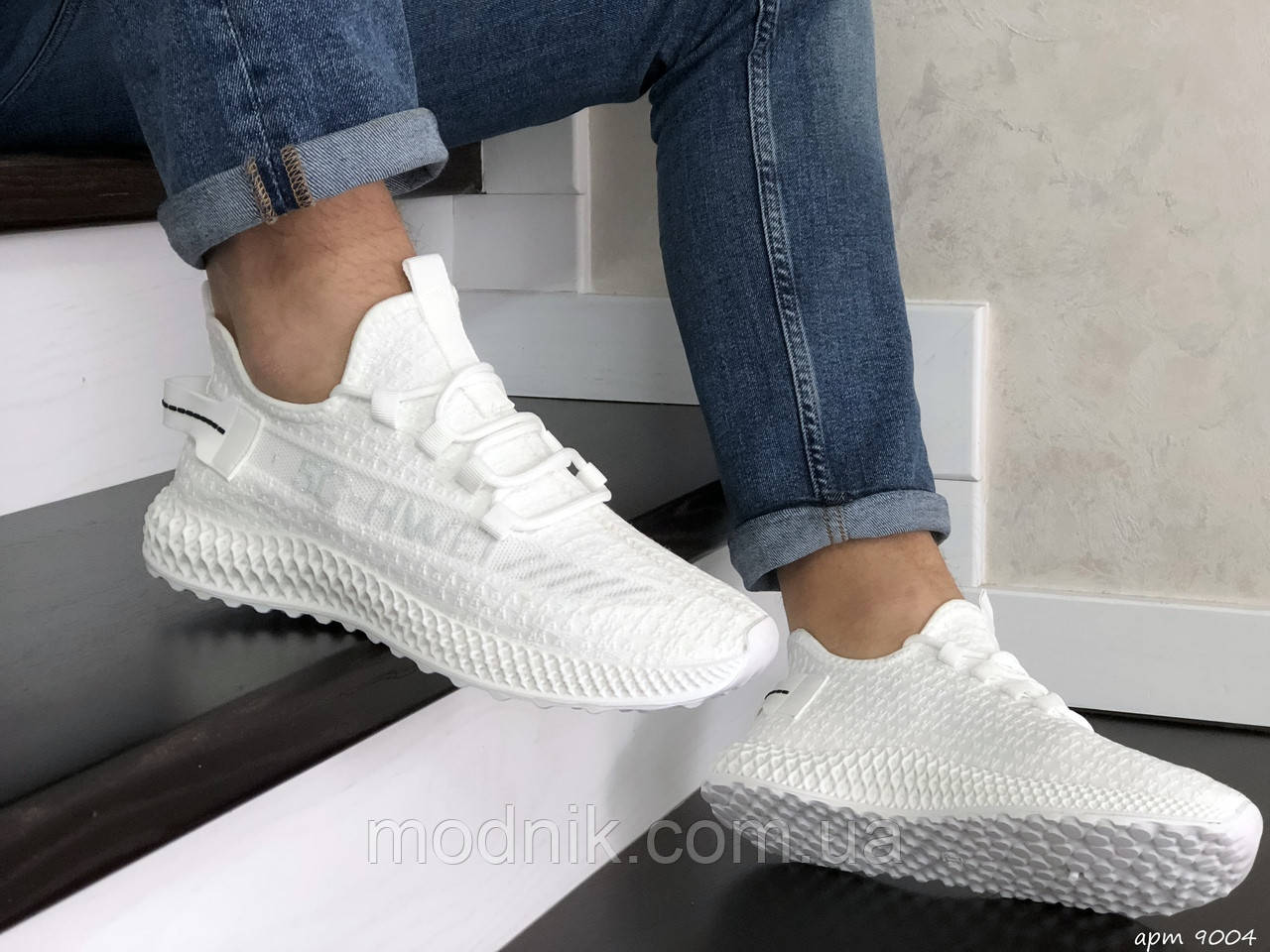 Мужские кроссовки 5G-HWEI (белые) 9004