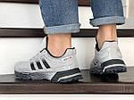 Мужские кроссовки Adidas Marathon TR (серые) 9005, фото 2