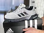 Мужские кроссовки Adidas Marathon TR (серые) 9005, фото 4