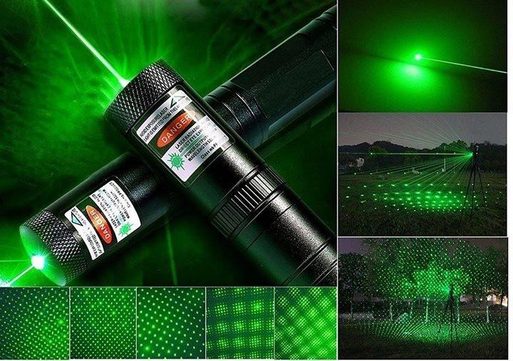 Військова зелена потужна лазерна указка Green Laser Pointer-303 лазер