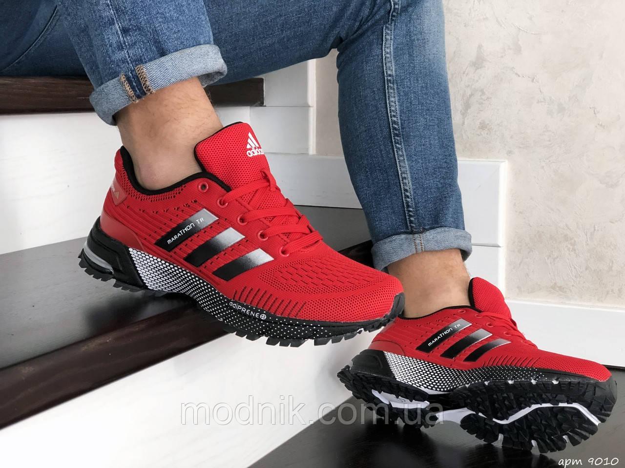 Мужские кроссовки Adidas Marathon TR (красные) 9010