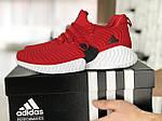 Мужские кроссовки Adidas (красные) 9017, фото 2