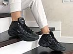 Женские кроссовки Reebok (черные) 9019, фото 2