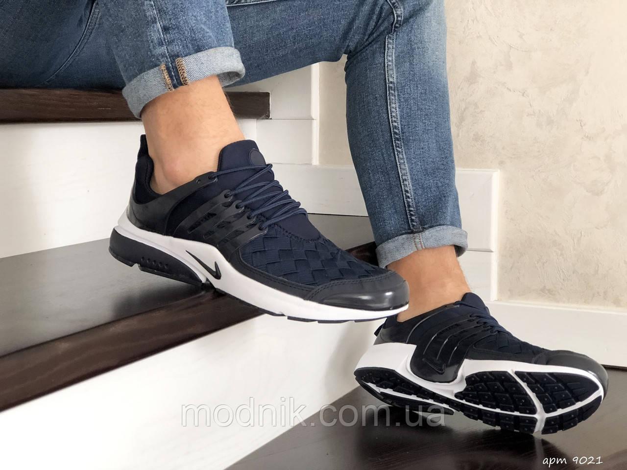 Мужские кроссовки Nike Air Presto TP QS (темно-синие) 9021