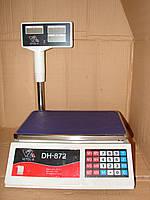 Электронные торговые весы Vitol-6 DHB-872 до 40 кг со слюдовой клавиатурой