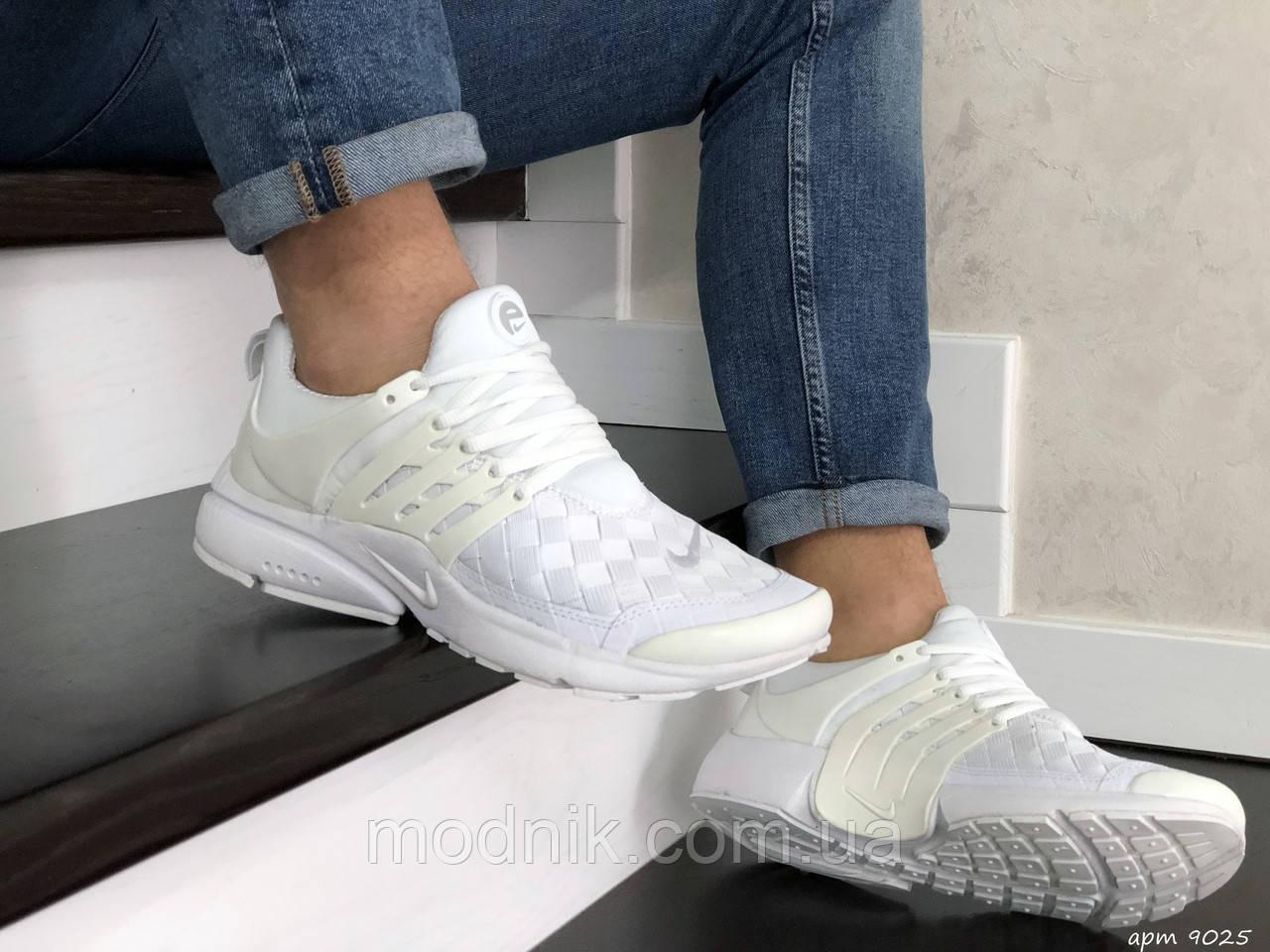 Мужские кроссовки Nike Air Presto TP QS (белые) 9025