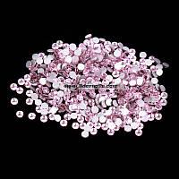 Стразы на ногти Swarovski Crystal 50 штук розовые SS3