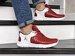 Мужские кроссовки Nike Air Jordan (красно-белые) 9029, фото 4