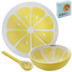 Посуда детская R85692, 3 предмета в наборе (Y)