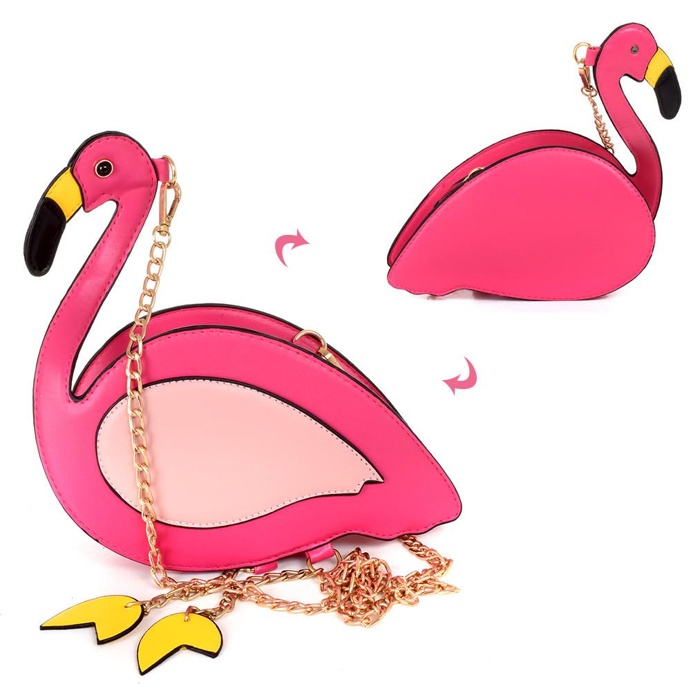 Сумочка 17-10-F Фламинго