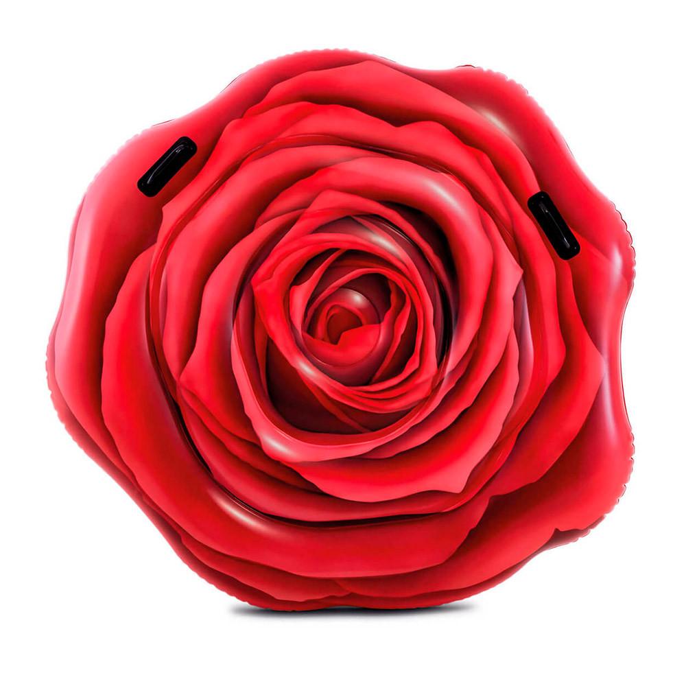 """Надувной матрас Intex 58783 """"Красная роза"""", 137х132 см"""