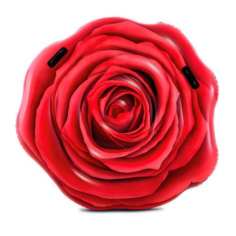 "Надувной матрас Intex 58783 ""Красная роза"", 137х132 см , фото 2"