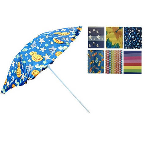 Зонт пляжный d2.4м серебро MH-0041, фото 2