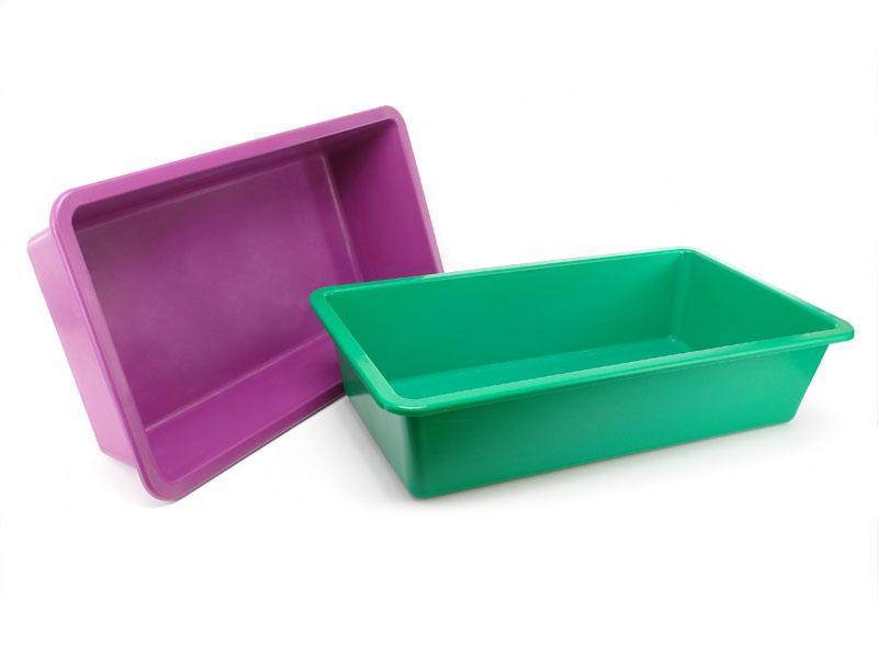 Таз пластиковый прямоугольный 65 литров Юнипласт