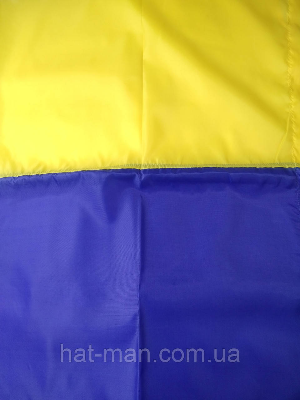 Прапор України великий: 140 на 85см, з креп-сатину