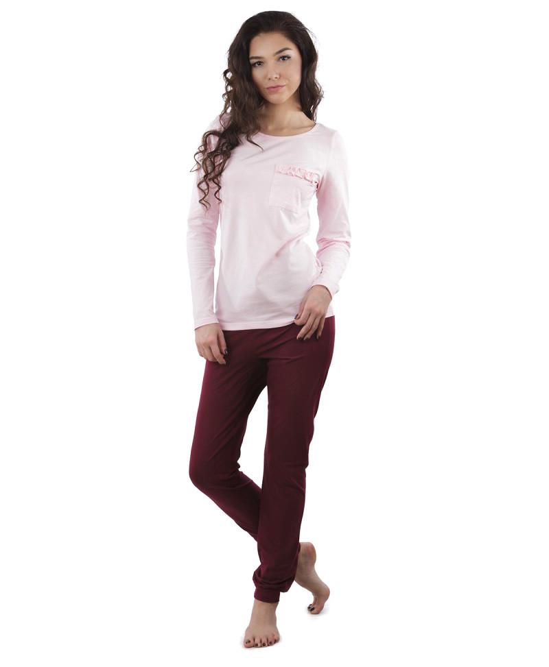 Пижама VPL 033 со штанами и кофтой (XS-2XL)