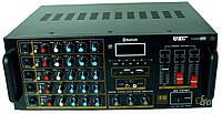 Усилитель звука с караоке, микшерный пульт UKC AV-747BT 2637