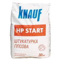 Гипсовая штукатурка Knauf HP START (Кнауф НР Старт) 30 кг