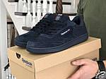 Мужские кроссовки Reebok (темно-синие) 9032, фото 2
