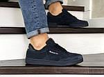 Мужские кроссовки Reebok (темно-синие) 9032, фото 3