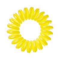 Резинка для волос желтая, 3шт