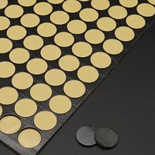 Двусторонняя клеевая липучка -крепеж, 2 см, цвет черный, 12 шт