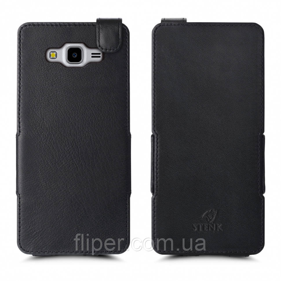 Чехол флип Stenk Prime для Samsung Galaxy J7 Neo Чёрный (59034)