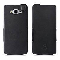 Чехол флип Stenk Prime для Samsung Galaxy J7 Neo Чёрный (59034), фото 1