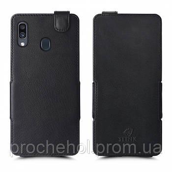 Чехол флип Stenk Prime для Samsung Galaxy A30 Чёрный
