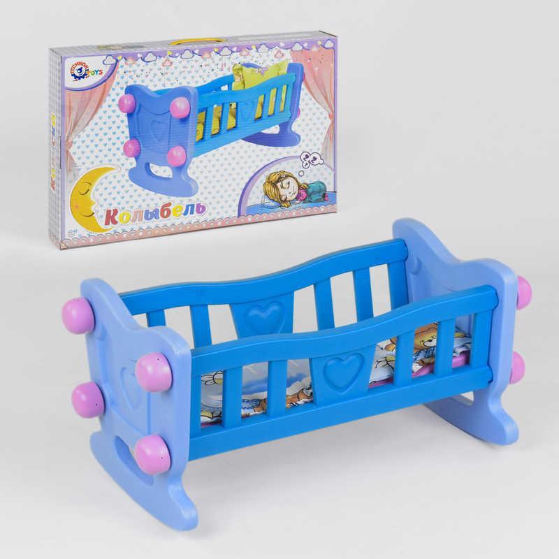 "Кроватка для куклы 4197 (4) ""ТЕХНОК"" в коробке"