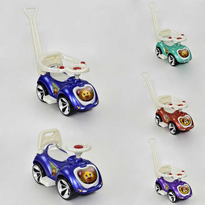 """Машина """"ЛАПКА"""" 809 (1) """"ORION"""" 4 цвета, с родительской ручкой и бампером"""